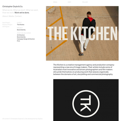 The Kitchen - Christopher Doyle & Co.