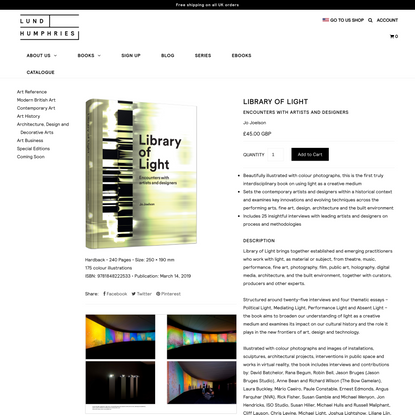 Library of Light – Lund Humphries