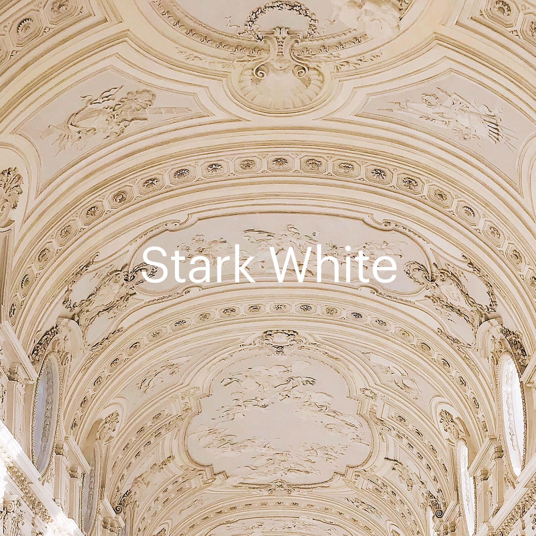 Stark White