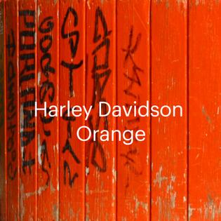 Harley Davidson Orange