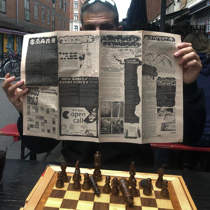 """Rietveld Journal on Instagram: """"The third issue of the Rietveld Journal is learning some chess in a breezy Copenhagen 🌬"""""""
