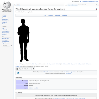 File:Silhouette of man standing and facing forward.svg - Wikipedia