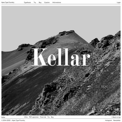Typefaces – Apex Type Foundry
