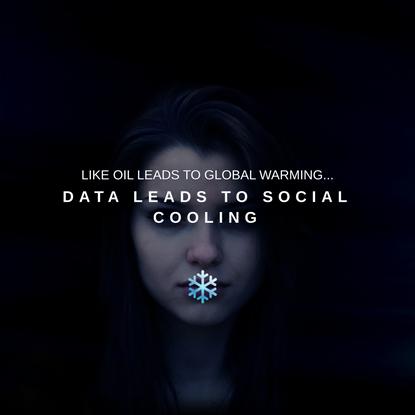 Social Cooling - big data's unintended side effect