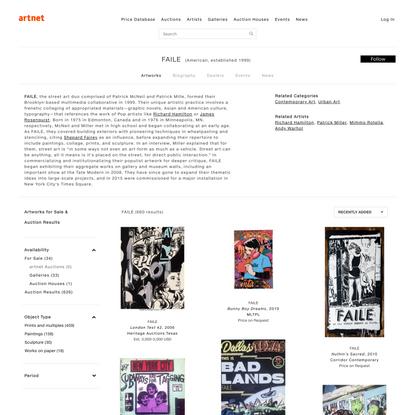 FAILE | artnet