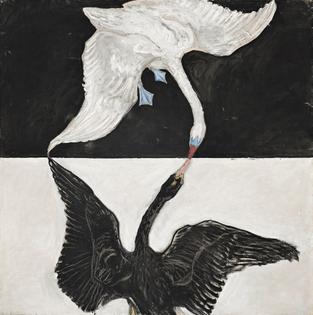 The Swan, No. 1, Hilma af Klint, 1915.