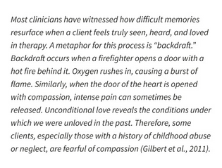 from Cultivating Self Compassion in Trauma Survivors by Christopher K. Germer and Kristin Neff