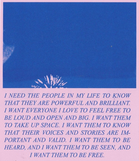 a riso remake from 'get yours' zine by margot-terc