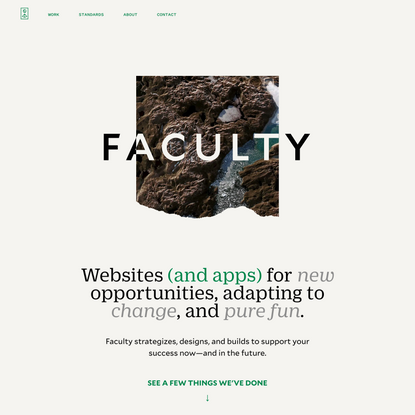 Faculty — Websites you can rely on