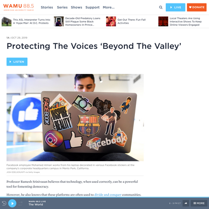Protecting The Voices 'Beyond The Valley' | WAMU