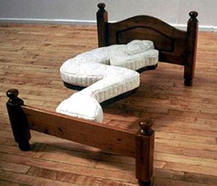 Fetal Position Bed