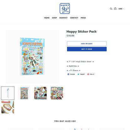 Happy Sticker Pack