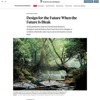 Design for the Future When the Future Is Bleak - The New York Times