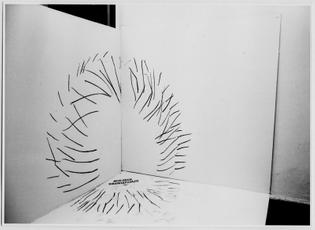 Zbigniew Warpechowski, Painting in the Corner, 1971.