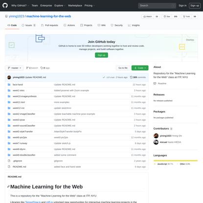 yining1023/machine-learning-for-the-web