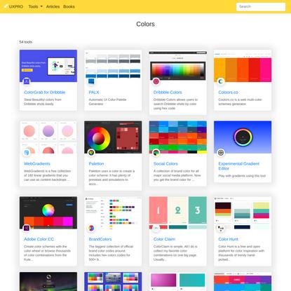 Colors | UXPRO
