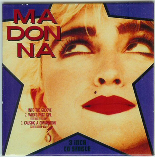 IMAGE OF MADONNA 45 Record Sleeve