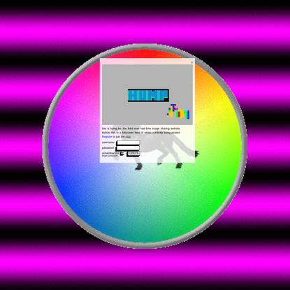 hump.fm - fullscreen