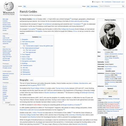Patrick Geddes - Wikipedia