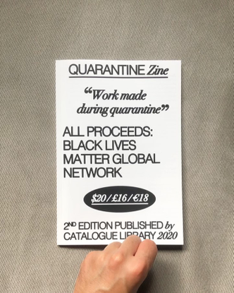 """Bráulio Amado on Instagram: """"My page for @cataloguedesign quarantine zine with a bunch of friends and artists I love. 💖 Cat..."""