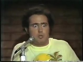 Andy Kaufman - Dadaist comedy genius, 1977