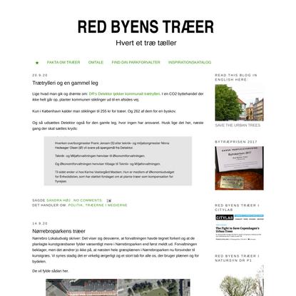 Red Byens Træer