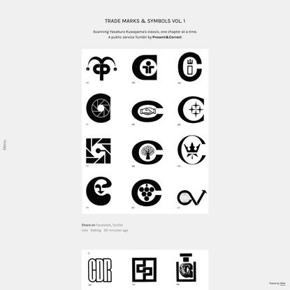 Trade Marks & Symbols Vol. 1.