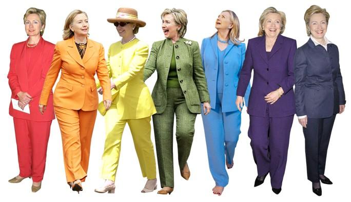 Hillary's Pantsuits