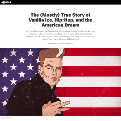 The Rise and Fall of Vanilla Ice, As Told by Vanilla Ice