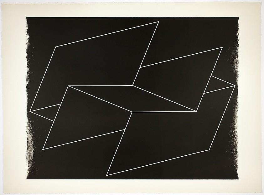 Interlinear N 32 by Josef Albers
