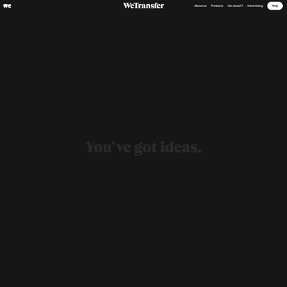 Welcome to WeTransfer