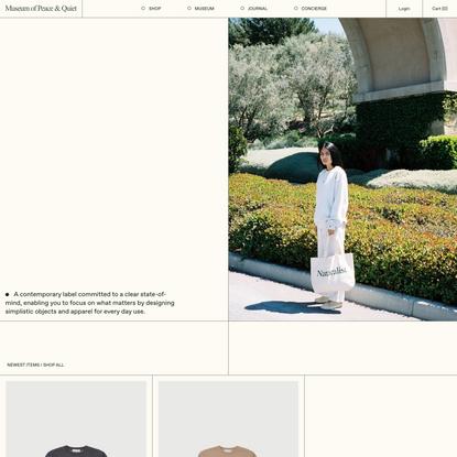 Museum of Peace & Quiet — Museum of Peace & Quiet