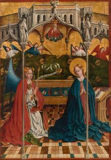 The Annunciation, Johann Koerbecke, 1457