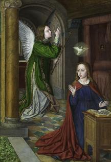 The Annunciation, Jean Hey, 1490/95