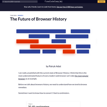 The Future of Browser History