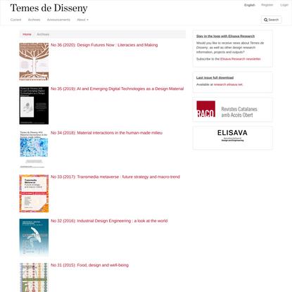 Archives | Temes de Disseny