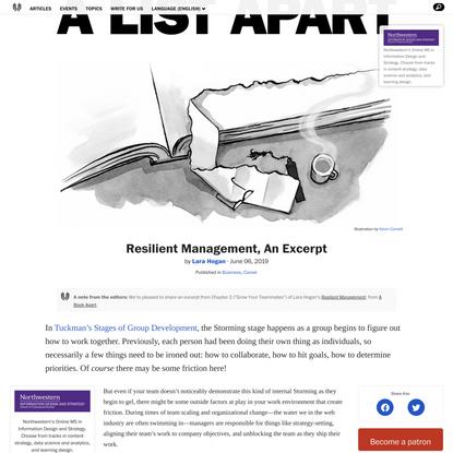 Resilient Management, An Excerpt