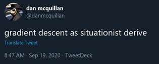 gradient descent as situationist derive