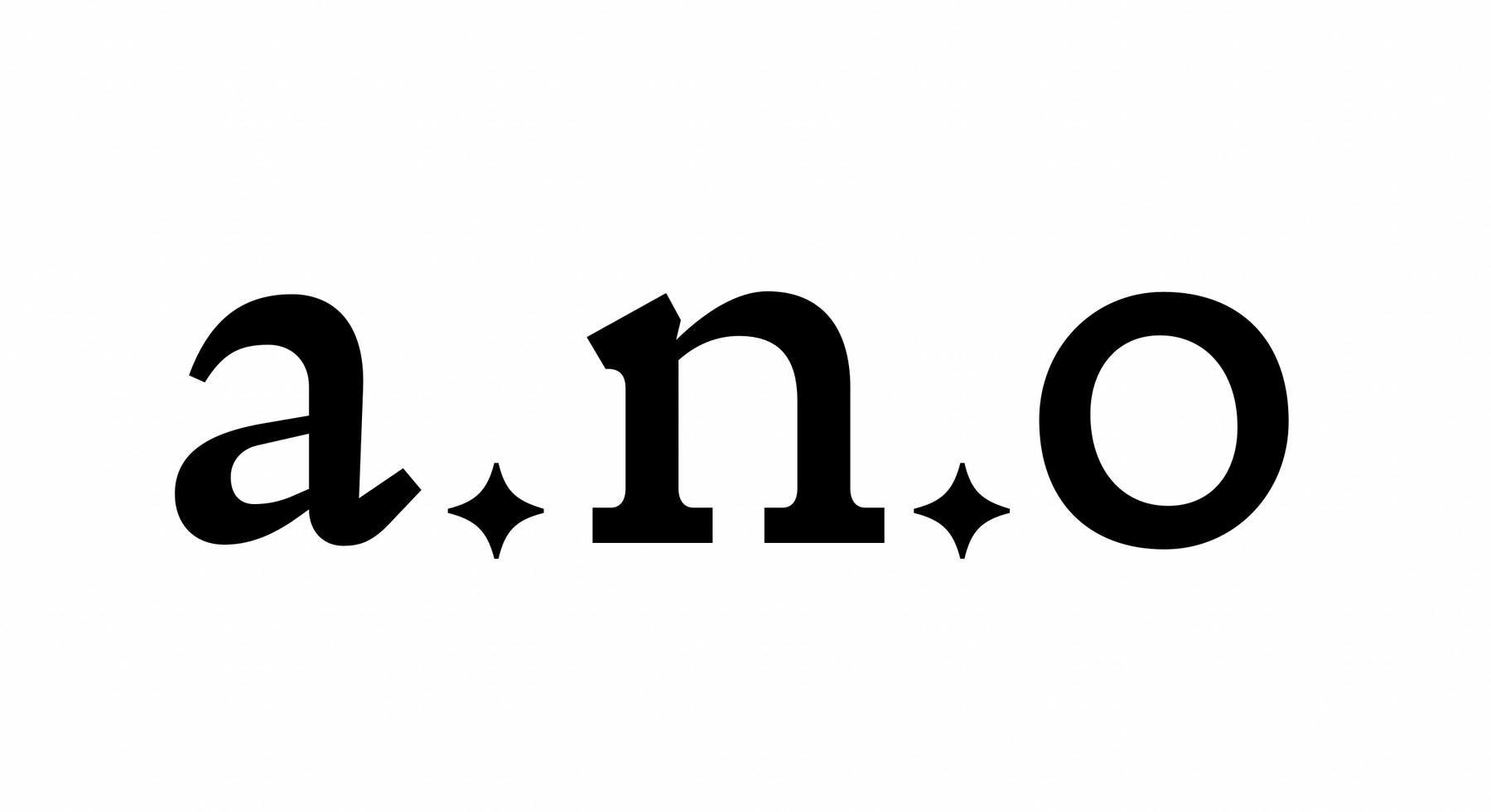 a.n.o set in lower case