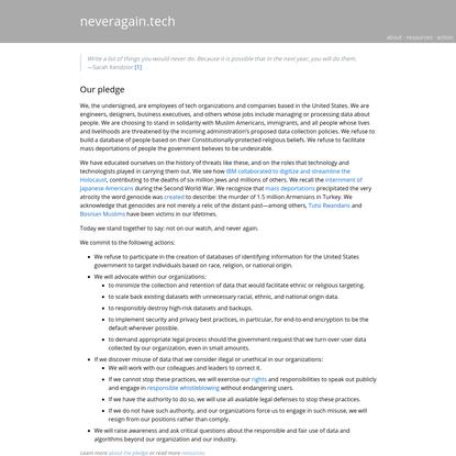 neveragain.tech