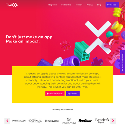 Twixl | Your Creativity, Our Ingenuity