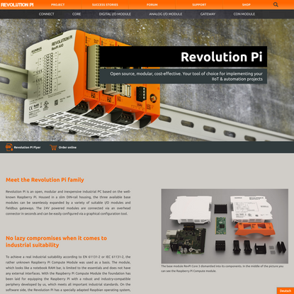 Meet the Revolution Pi products - Industrial Raspberry Pi