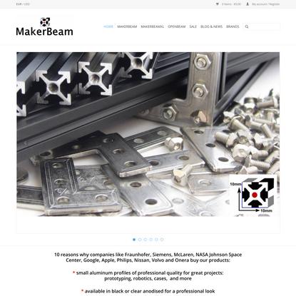 MakerBeam - Think Build Enjoy