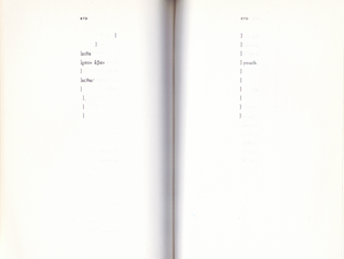A scan of Sappho, translated by Anne Carson, sent by Yanyi