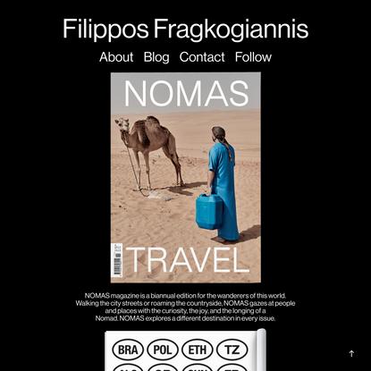 Studio Filippos Fragkogiannis - Nomas Travel