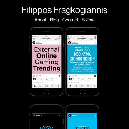 Studio Filippos Fragkogiannis - Fonts.gr Social Media