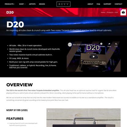 D20 - Revv Amplification