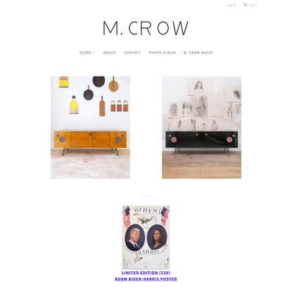 M. CROW