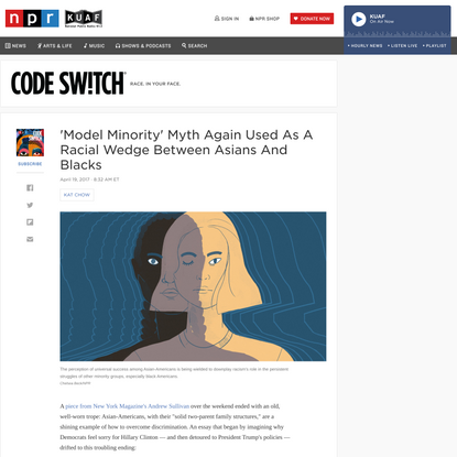 'Model Minority' Myth Again Used As A Racial Wedge Between Asians And Blacks