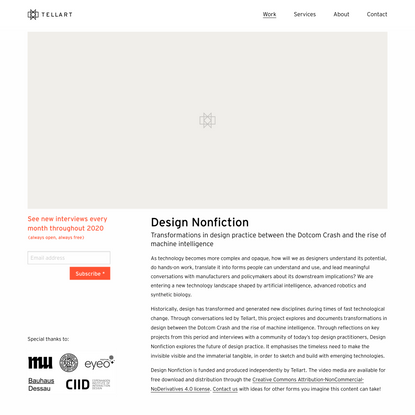 Design Nonfiction